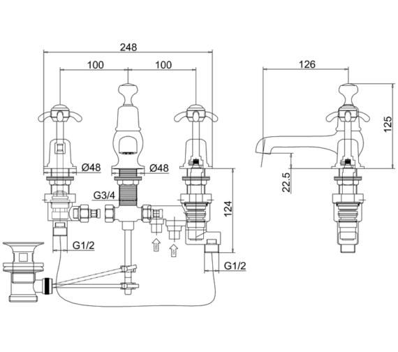 Technical drawing QS-V83740 / AN29