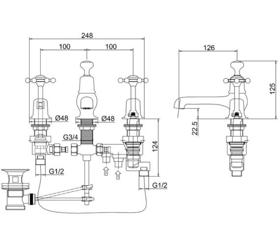 Technical drawing QS-V83741 / BI29