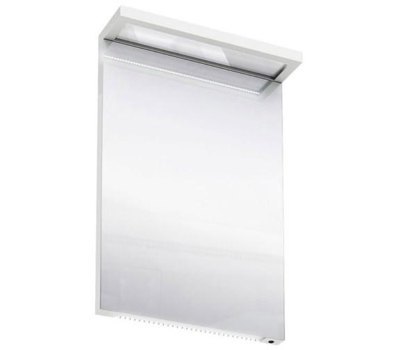 Britton Aqua Cabinets 500mm LED Mirror With Infrared Sensor - White