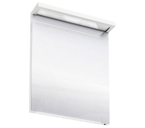 Britton Aqua Cabinets 600mm LED Mirror With Infrared Sensor - White