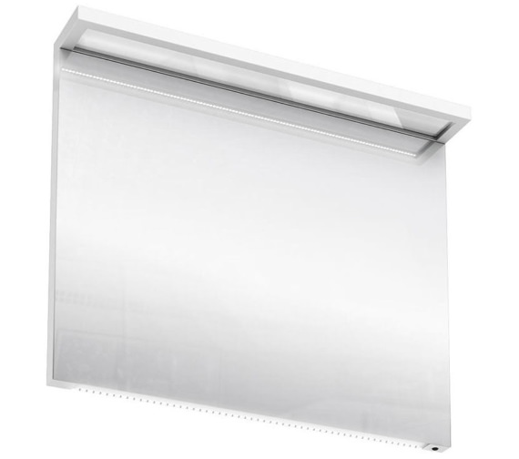 Britton Aqua Cabinets 900mm LED Mirror With Infrared Sensor - White