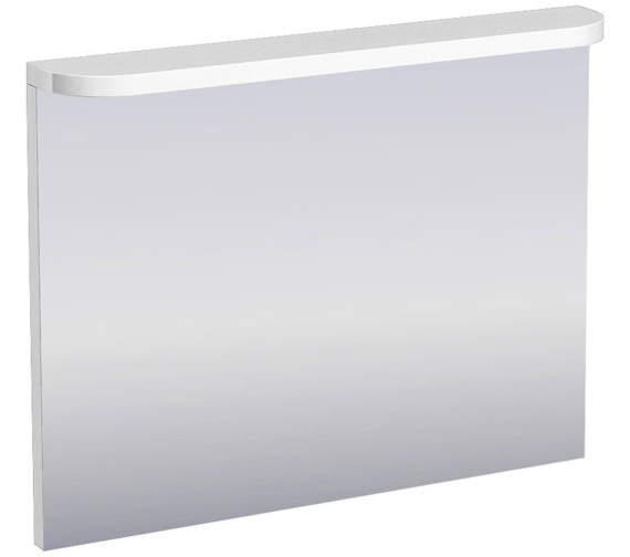 Britton Aqua Cabinets Compact White 900mm Illuminated Mirror