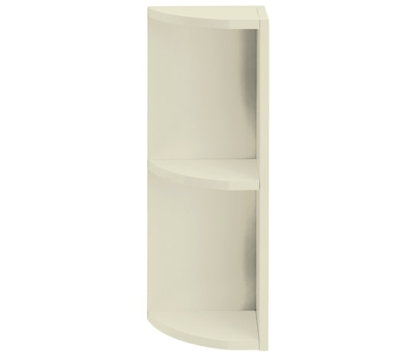 Heritage Caversham Traditional Oyster 265mm Curved End Open Unit