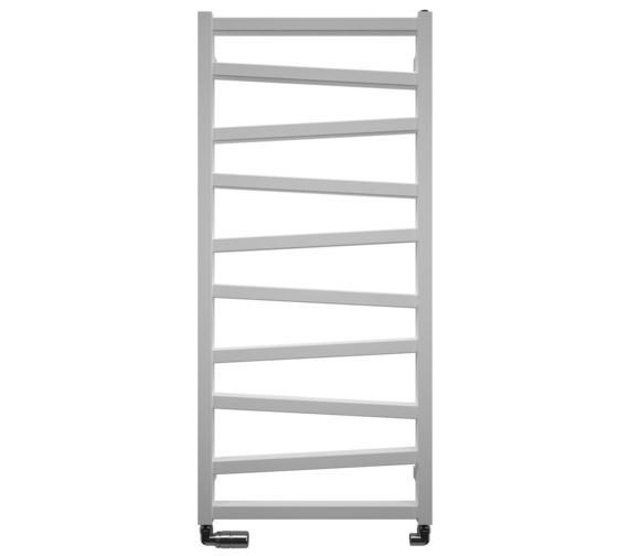 Bauhaus Gallery Wedge 500 x 1096mm White Matte Towel Warmer