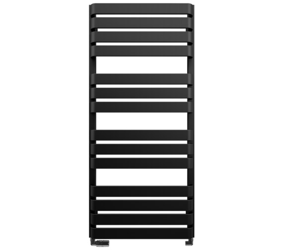 Bauhaus Gallery Celeste 500 x 1100mm Towel Warmer Black Matte