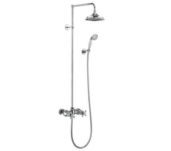 Burlington Eden 2 Outlet Exposed Thermostatic Shower Set