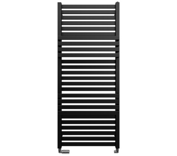 Bauhaus Gallery Seattle 500 x 1185mm Black Matte Towel Warmer