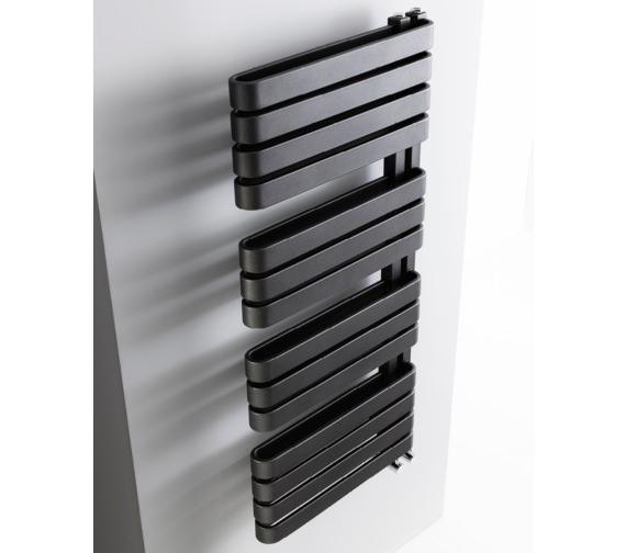 Bauhaus Gallery Svelte 500 x 1100mm Towel Warmer Black Matte