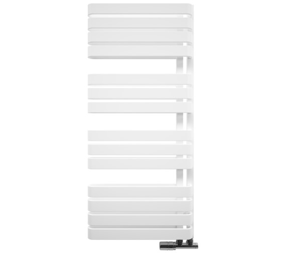 Bauhaus Gallery Svelte 500 x 1100mm White Matte Towel Warmer