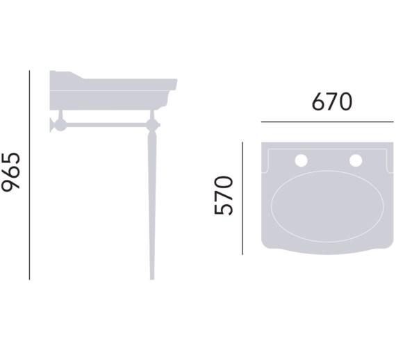Technical drawing QS-V82375 / WSABVIC