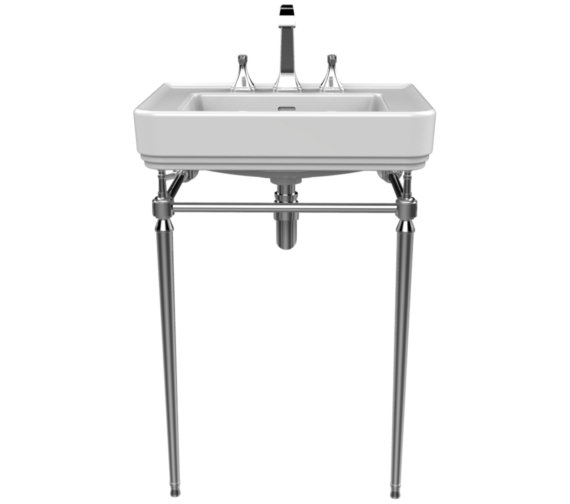 Heritage Abingdon Chrome Washstand For Wynwood Basin