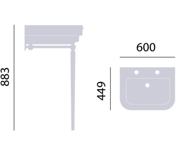 Technical drawing QS-V82376 / WSABWYN
