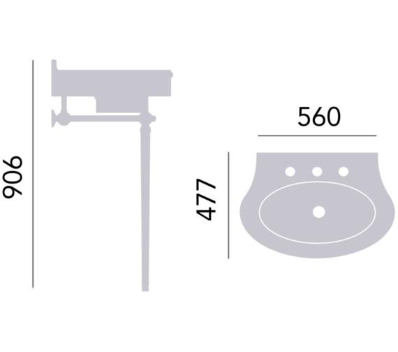 Technical drawing QS-V82373 / WSABCLA