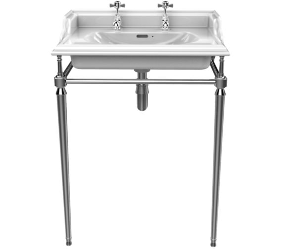 Heritage Abingdon Chrome Washstand For Dorchester Basin