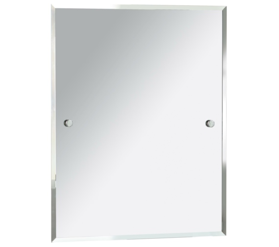 Heritage Harlesden 550 x 700mm Rectangular Mirror With Chrome Fitting