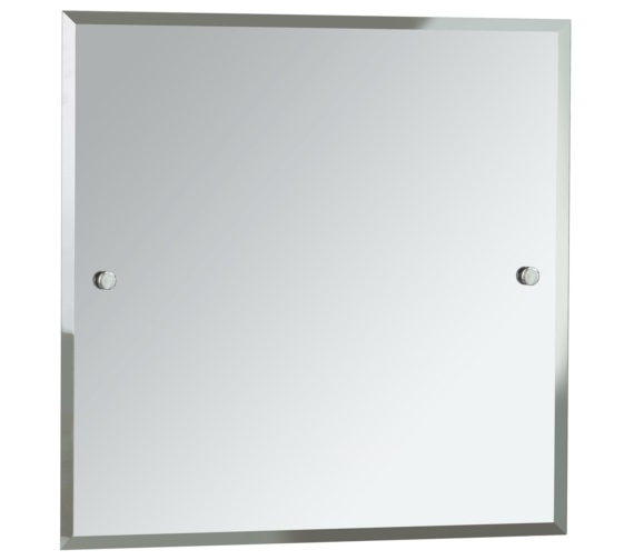 Heritage Harlesden 600mm Square Mirror With Chrome Fitting