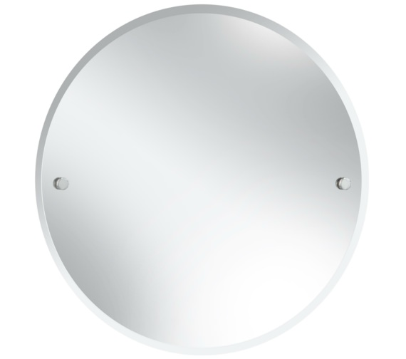 Heritage Harlesden 610mm Round Mirror With Chrome Fitting