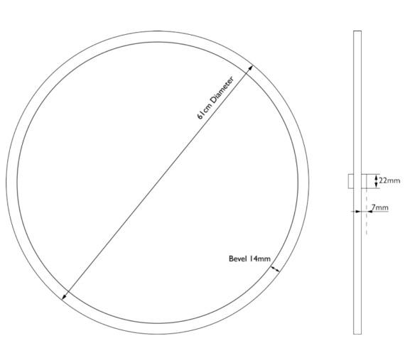 Technical drawing QS-V84136 / MHDRDG