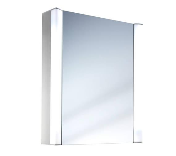 Schneider Moanaline 1 Door Mirror Cabinet 550 x 640mm