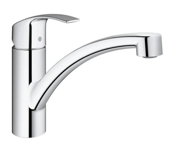 Grohe Eurosmart Kitchen Sink Mixer Tap Chrome