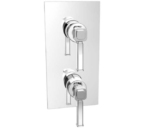 Heritage Somersby Recessed Thermostatic Shower Valve With 1 Outlet