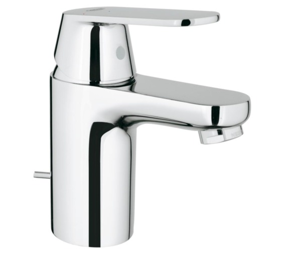 Grohe Eurosmart Cosmopolitan S-Size Basin Mixer Tap With Pop Up Waste