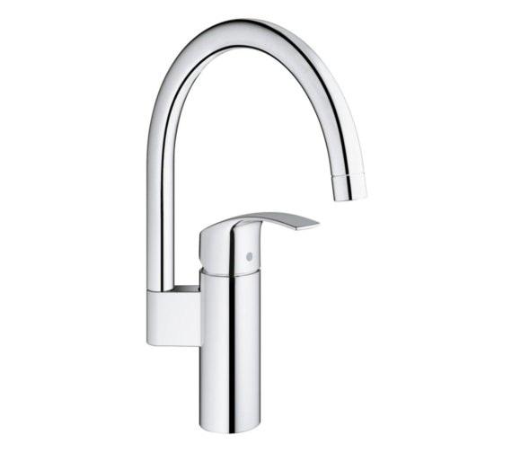 Grohe Eurosmart Half Inch Single Lever Kitchen Sink Mixer Tap