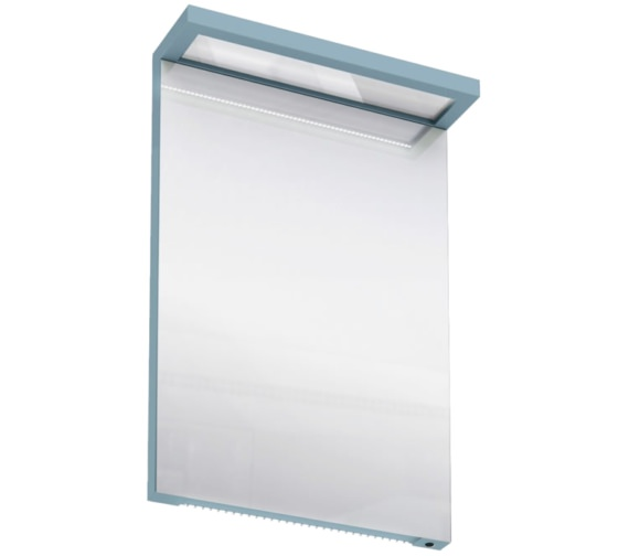 Britton aqua cabinets 500mm led mirror with infrared for Bathroom cabinets 500mm wide