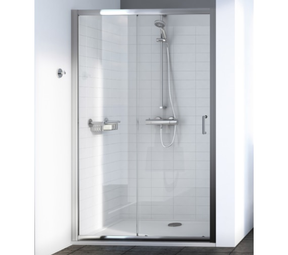 Aqualux Source 1700mm Sliding Shower Door
