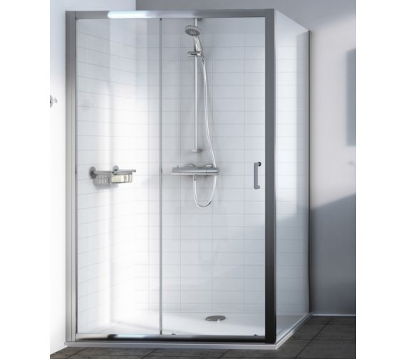 Alternate image of Aqualux Source 1000mm Sliding Shower Door