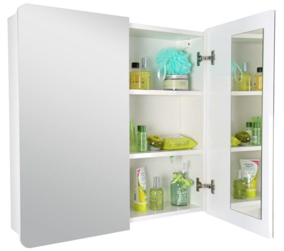 Alternate image of Croydex Ryton Double Door Bi-View Cabinet - WC710222