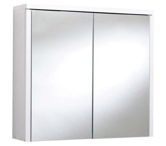 Croydex Swivel Double Door Bi-View Wooden Cabinet 540 x 500mm