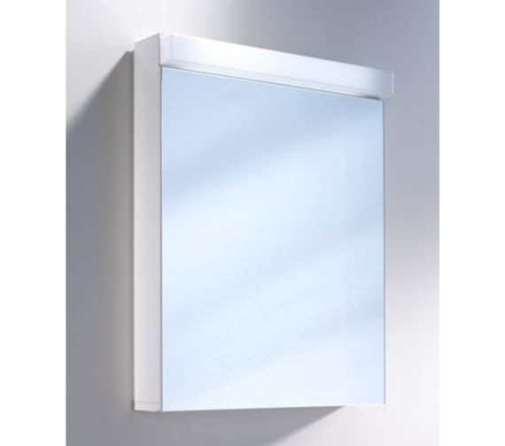 Schneider Lowline 1 Door Mirror Cabinet With Flourescent Lighting