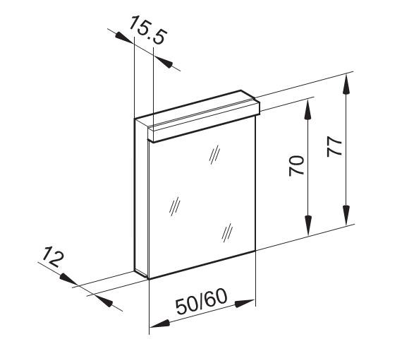 Technical drawing QS-V16644 / LOW 50/1/FL