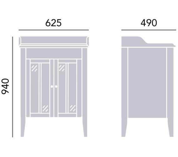 Technical drawing QS-V24337 / FHOA34
