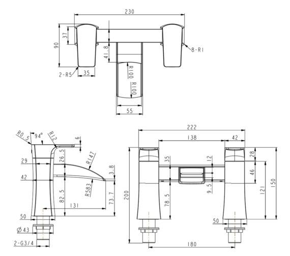 Technical drawing QS-V6792 / T173202