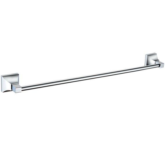 Heritage Chancery 590mm Single Chrome Towel Rail