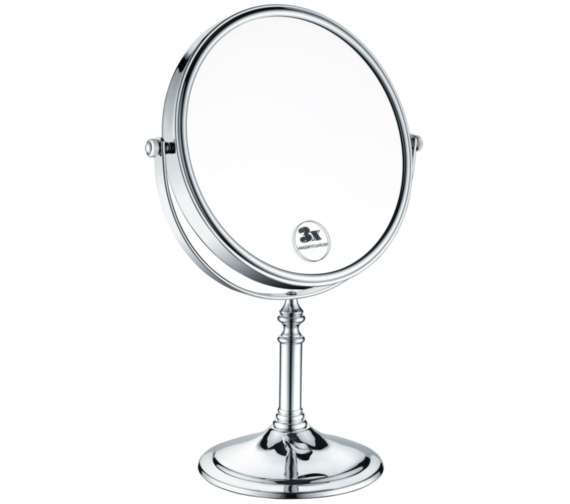 Heritage 8 Inch Free Standing Magnifying Mirror