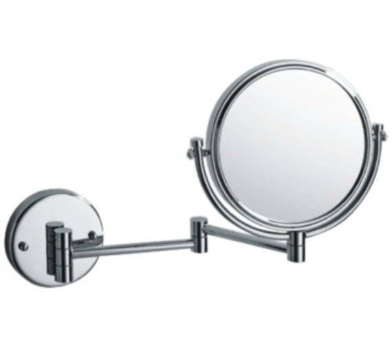 Heritage Wall Mounted 8 Inch Mirror Chrome