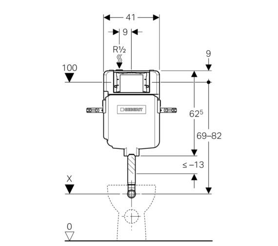 Technical drawing QS-V16030 / 109.792.00.1