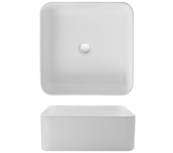 Bauhaus Gallery Bold 400mm Countertop Basin Without Overflow