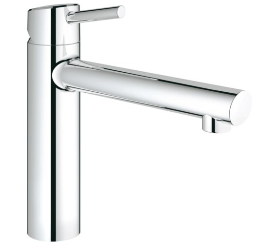 Grohe Concetto Half Inch Kitchen Sink Mixer Tap Chrome
