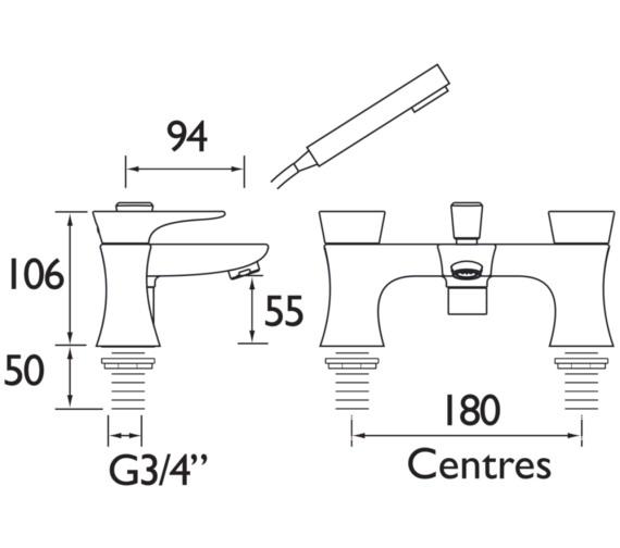 Technical drawing QS-V82359 / TLYCG02
