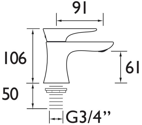 Technical drawing QS-V82358 / TLYCG01