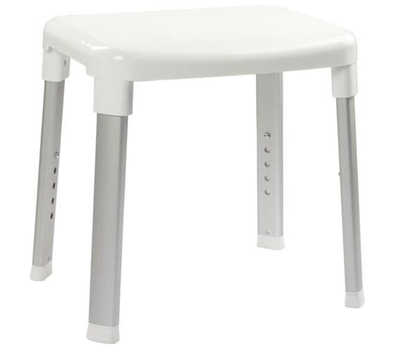Croydex White 420mm Adjustable Shower Stool