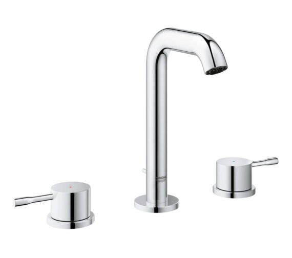 Grohe Essence New M-Size 3 Hole Basin Mixer Tap