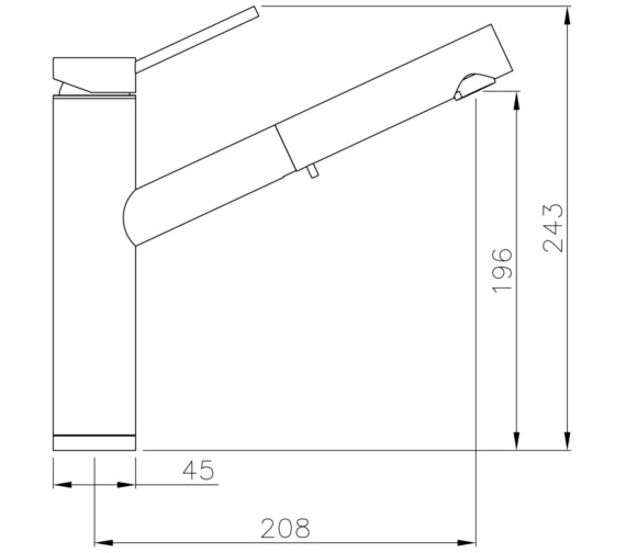 Technical drawing QS-V8622 / AT1212