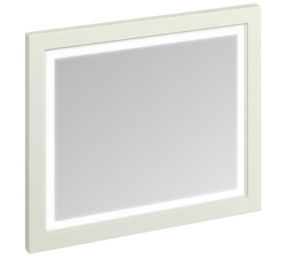 Burlington 900mm Sand Framed Mirror With LED Illumination