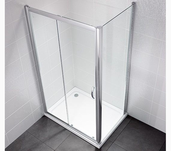 April Identiti2 1100mm Sliding Shower Door