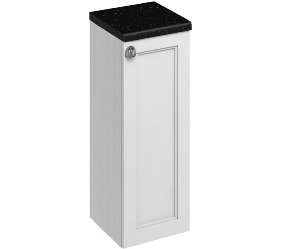 Burlington 300mm Matt White Single Door Base Unit